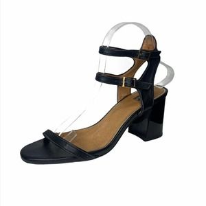 Jaggar leather double ankle strap sandals